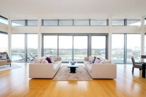 Penthouse Wandsworth River Views Lounge Area Desres London