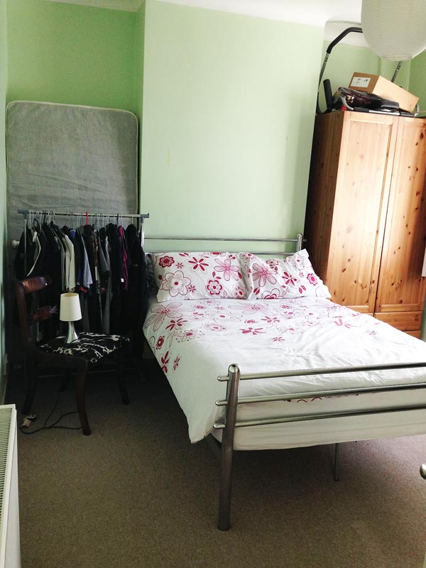 Leytonstone Bedroom 3 before
