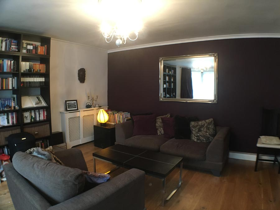 Balham Bedford Hill Home Staging Before 1