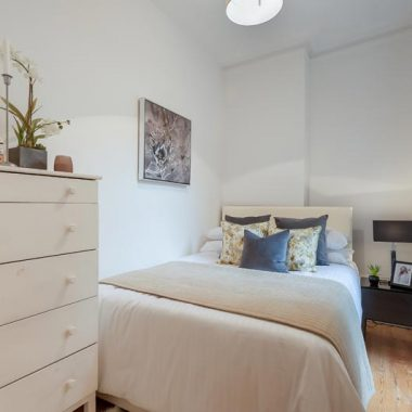 Bedroom Home Staging Oval